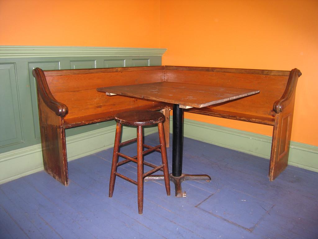 24 Nunyun's, Corner Table