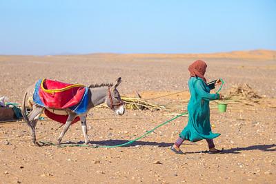 Berber Nomad Woman
