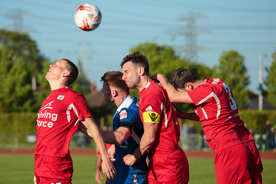 Connah's Quay Nomads v. Airbus UK Broughton, Welsh Premier League Europa League playoff final, 14/05/2016