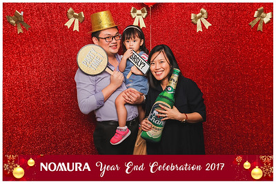 Nomura Year End Celebrations 2017 | © www.SRSLYPhotobooth.sg