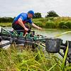 Organised pole fishing.