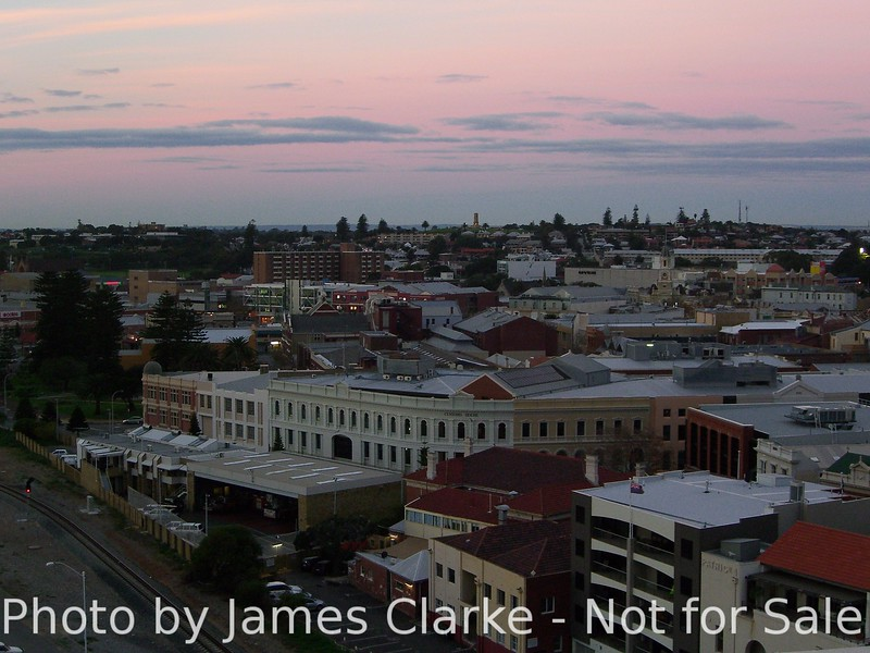 Fremantle at Sunset