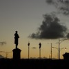 C.Y. O'Connor Statue at Sunset