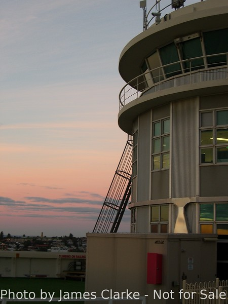 Signal Station at Sunset