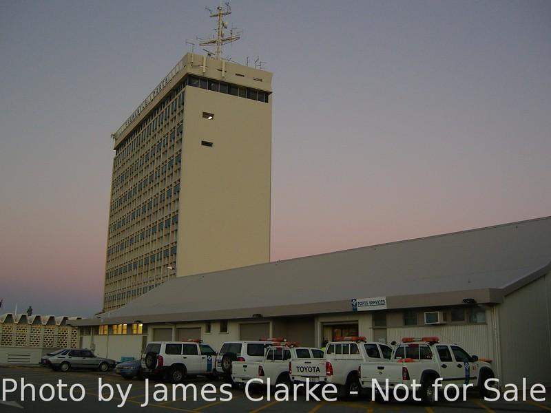 Sunset at Fremantle Ports