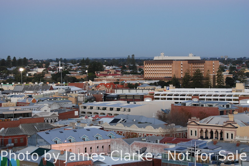 An Evening View Towards Fremantle Hospital