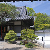 A Sub Temple.<br /> At Bydoin Temple, Uji city, Kyoto-fu.<br /> It is a condition of entry of Byodoin Temple that any photos taken there are not used for commercial purposes. The funny thing is: an image of this temple is on the 10 yen coin, and that's being used for commercial purposes every day.