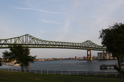 Tobin Bridge from the Chelsea side 08/10.