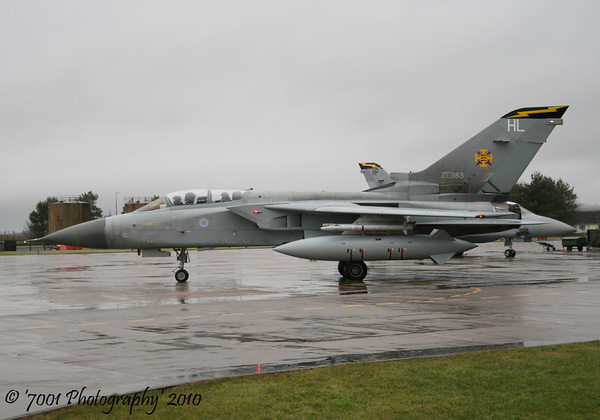 ZE983/'HL' (111 SQN marks) & ZE342/'HP' (111 SQN marks) Tornado F.3 x2.