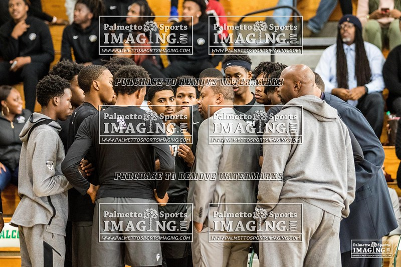 Gray Collegiate Academy Varsity Men Basketball vs Ben Lippen-2