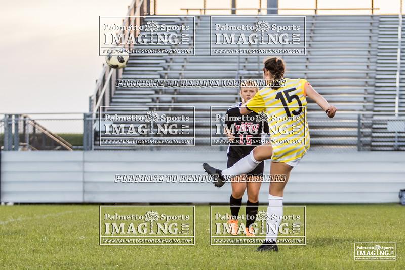 Gray Collegiate Academy Varsity ladies Soccer vs gilbert-112