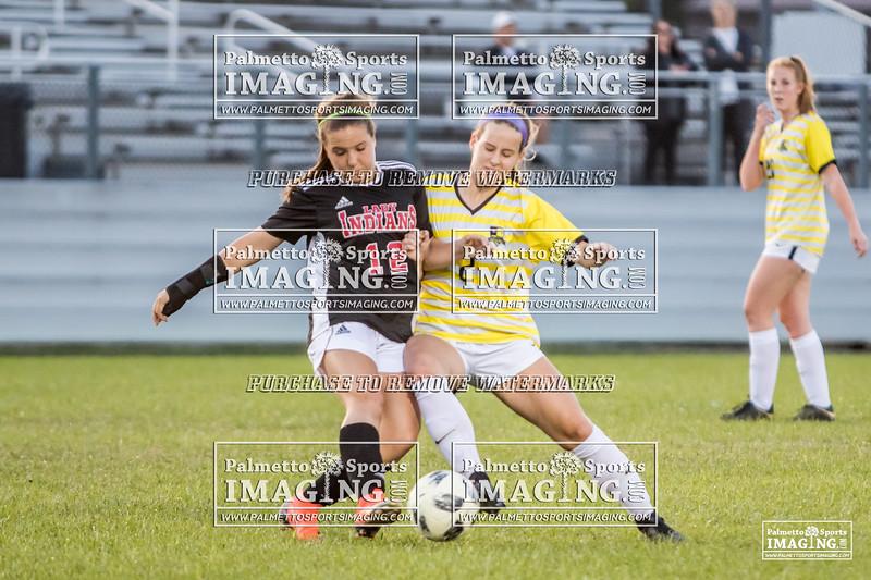 Gray Collegiate Academy Varsity ladies Soccer vs gilbert-99