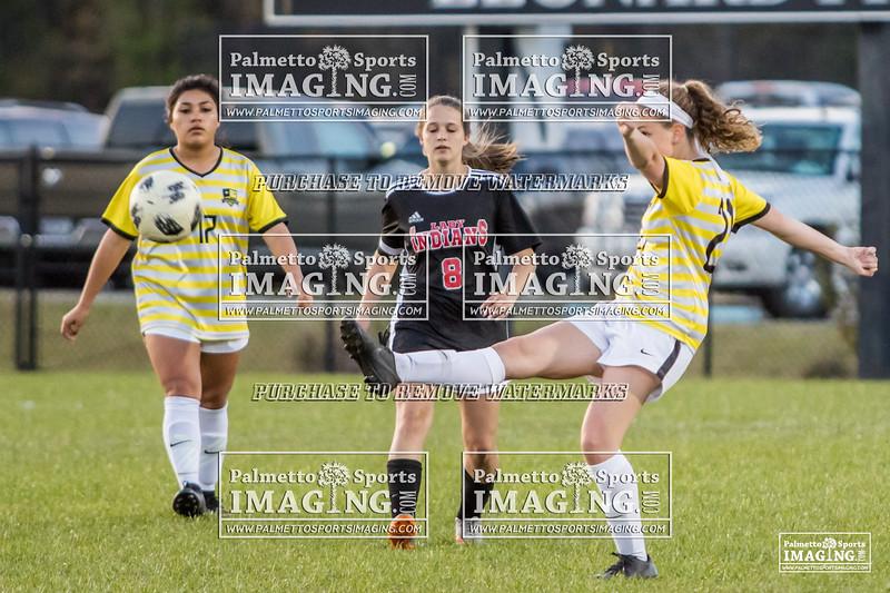 Gray Collegiate Academy Varsity ladies Soccer vs gilbert-102