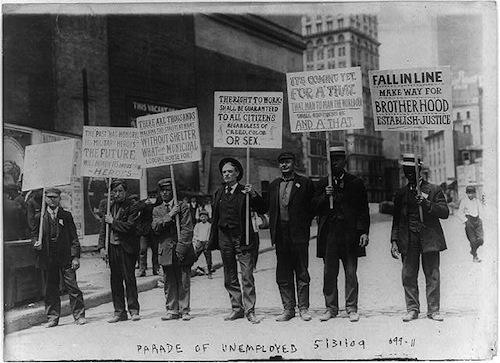 Parade of the Unemployed (Credit: Library of Congress)