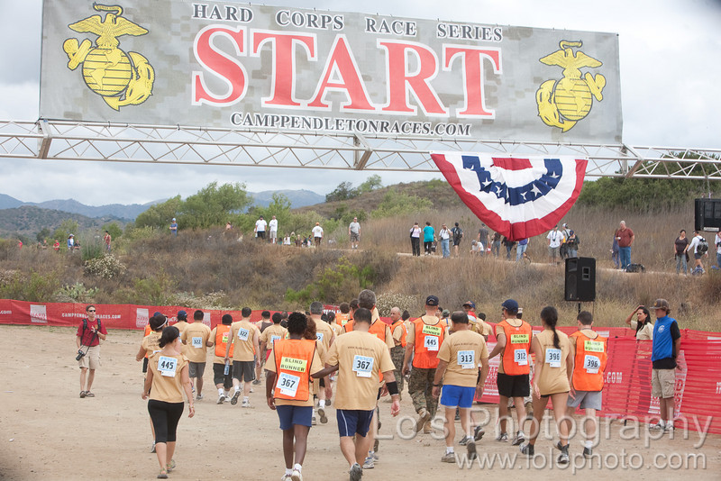 Blind Start of America - Blind Mud Run