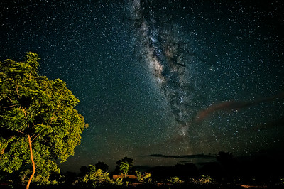 Milkyway Over Burkina Faso
