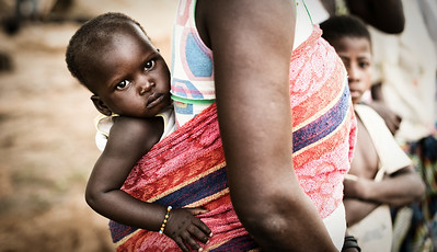 Burkinabé Woman & Child