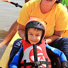 Best Day Foundation's Beach Day at Newport Aquatic Center - Caleb enjoys kayaking