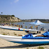 The Newport Aquatic Center was the perfect location for Best Day's SUP paddle day in Newport's Back Bay