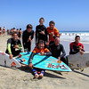7078 Chris Waring, Austin King, Ryan Almon, Dave King, Matt Taylor ready to catch a few big waves with Christiaan Bailey
