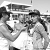 US Open of Surfing 2012, Day 7 - Life Rolls On Expression Session - Rockin' Fig interviews HB local Aryn Farris