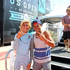 US Open of Surfing 2012, Day 7 - Life Rolls On Expression Session - Aryn Farris & Carlos Munoz