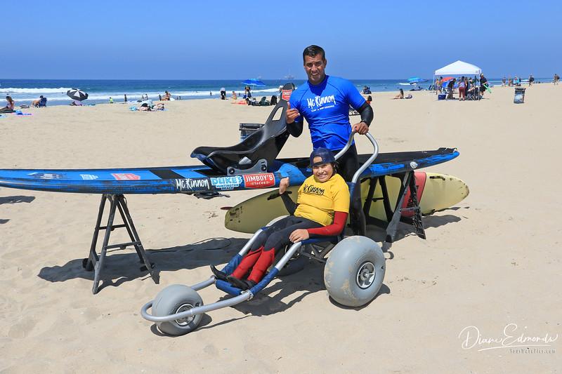 2019-08-13_241_Kumaka Jensen.JPG<br /> McKinnon Surf & SUP Lessons and Adaptive Surfing
