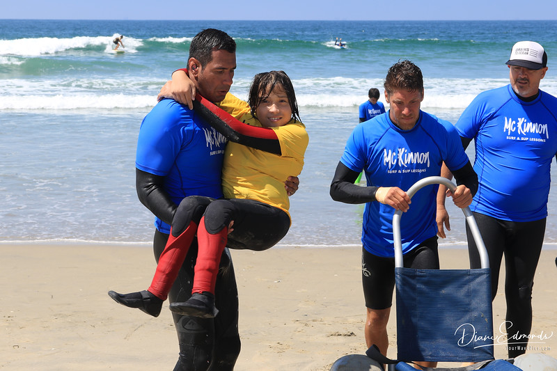 2019-08-13_234_Kumaka Jensen.JPG<br /> McKinnon Surf & SUP Lessons and Adaptive Surfing