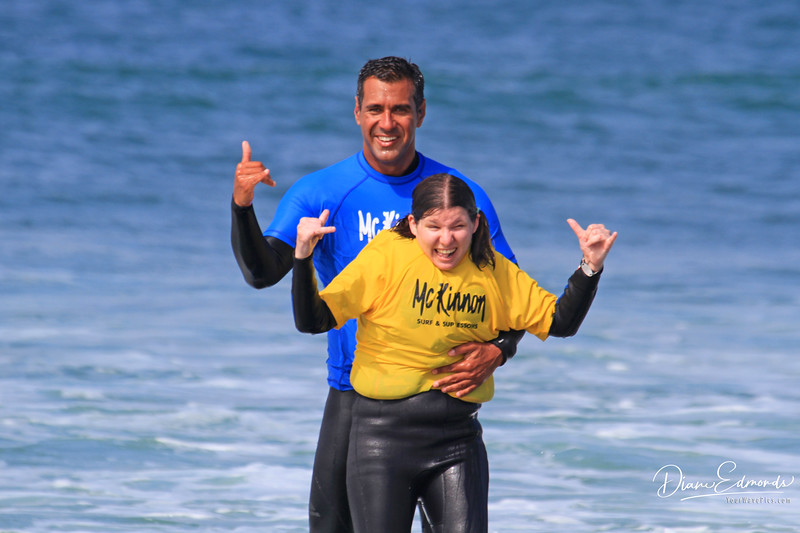 2019-08-13_134_Amy Hansen_Rocky McKinnon.JPG<br /> McKinnon Surf & SUP Lessons and Adaptive Surfing