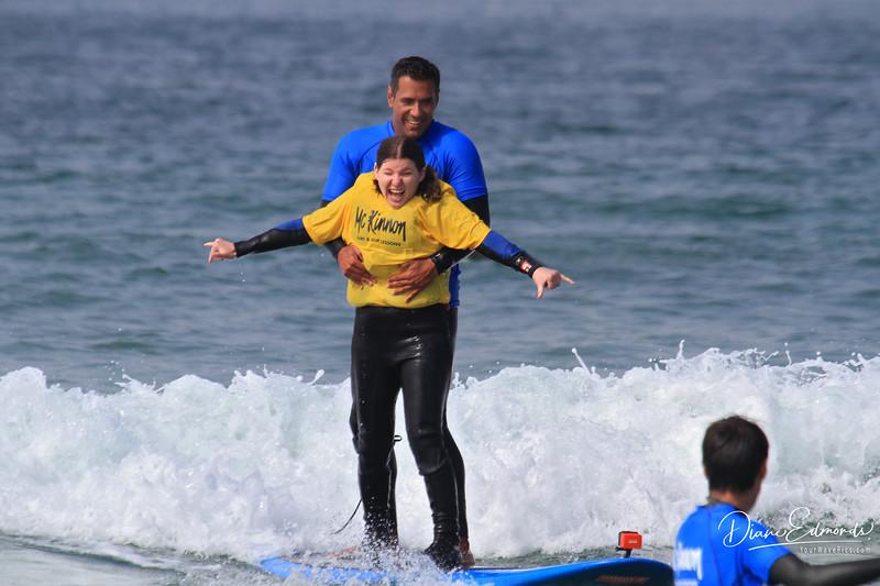 2019-08-13_109_Amy Hansen_Rocky McKinnon.JPG<br /> McKinnon Surf & SUP Lessons and Adaptive Surfing