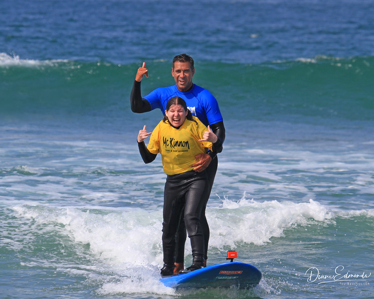 2019-08-13_150_Amy Hansen_Rocky McKinnon.JPG<br /> McKinnon Surf & SUP Lessons and Adaptive Surfing
