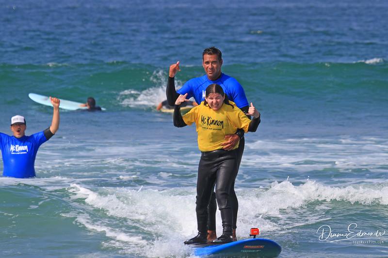 2019-08-13_147_Amy Hansen_Rocky McKinnon.JPG<br /> McKinnon Surf & SUP Lessons and Adaptive Surfing