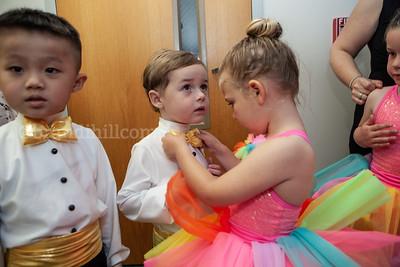 Boys at JCDS Dance Recital