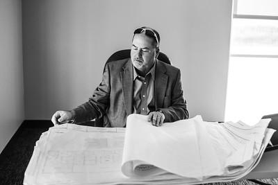 Rick Recht at Allison Stein Robbins' Building Ribbon Cutting