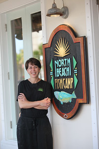 Margie Ashens of North Beach Fish Camp