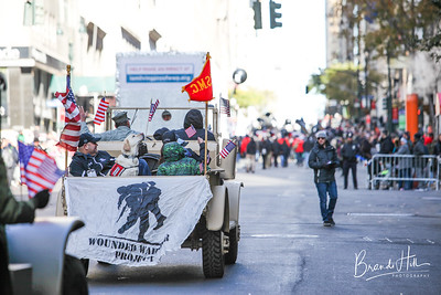 Wounded Warrior Project's NYC Veteran's Day Parade