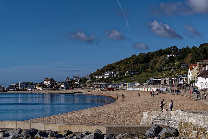 The Beach and Seafront, 1st October 2018.