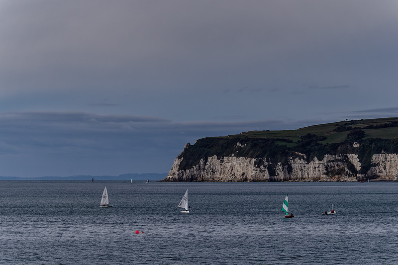Sailing in Seaton Bay, 30th September 2018.