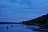 The Axe Estuary at dusk, 8th October 2018.