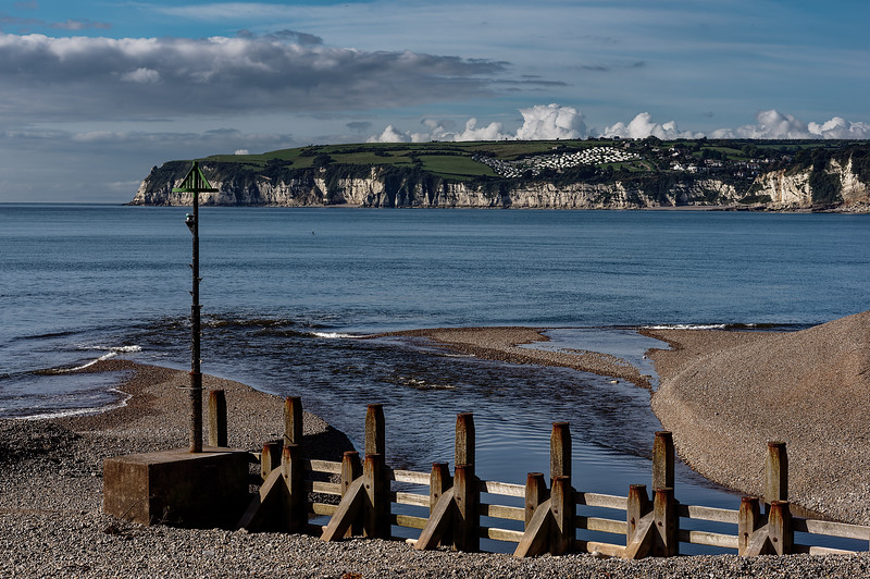 Axmouth Harbour entrance, 9th October 2015.