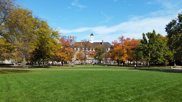 Illini Union in Autumn
