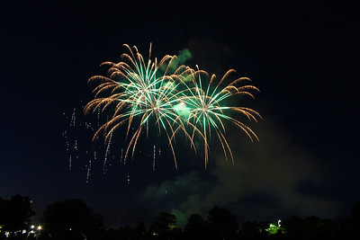 2014 Champaign Fireworks #4