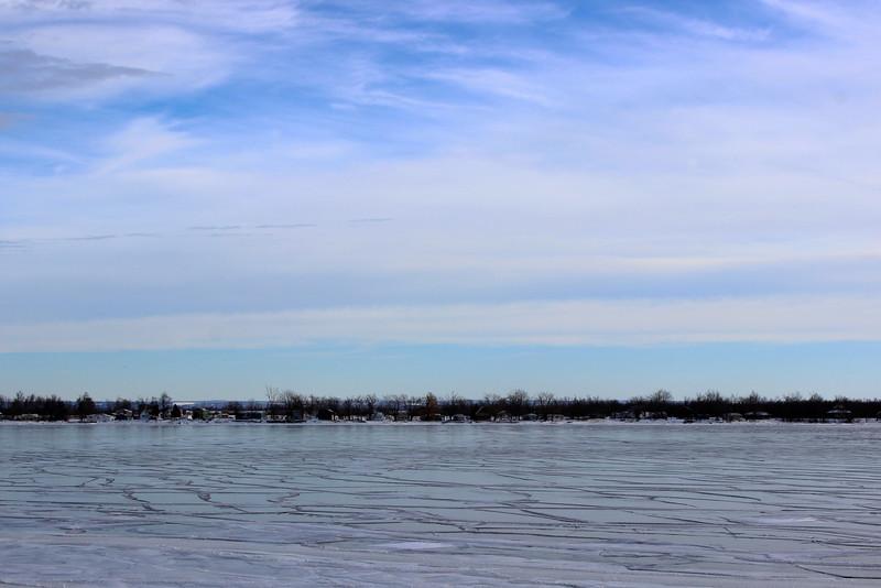 Cracks on the Ice