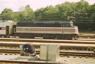 VREX - Virginia Railway Express