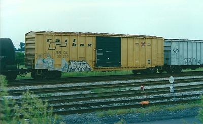 RBOX - Railbox (Trailer Train Corp)