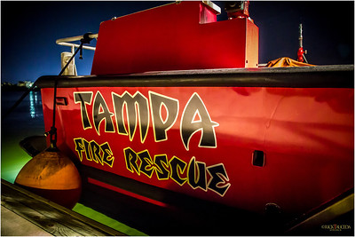 Tampa Fire & Rescue in Buccaneer colors