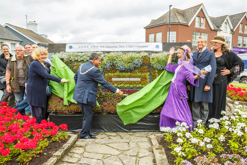 175th Anniversary - Unveiling Flower Train