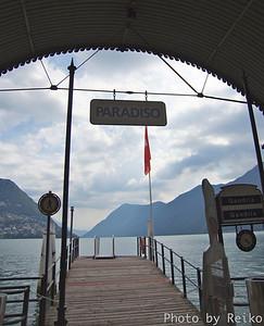 Lugano Paradiso  パラディソって、天国かい! と、ちょっと嬉しかった。