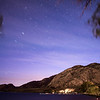 Night sky over Osoyoos, BC