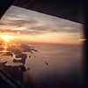 Sunset over the Gulf Islands